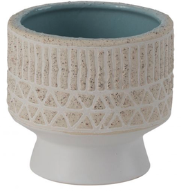 """Small Umbra Footed Pot D3.5"""" H3.25"""""""