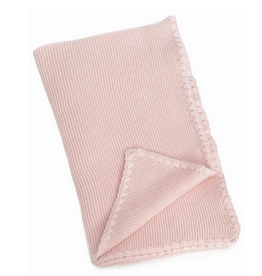 "Pink Mia Baby Blanket L30"" W40"""
