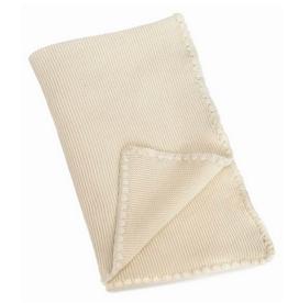 """Ivory Mia Baby Blanket L30"""" W40"""""""