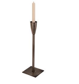 "XSmall Silver El Grande Candlestick H15.25"""