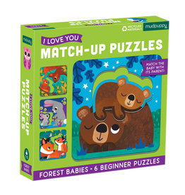 Forest Babies Match Up Puzzle