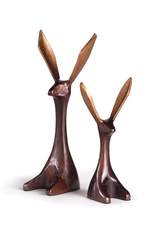 "Large Jack Rabbit Figurine H12"""