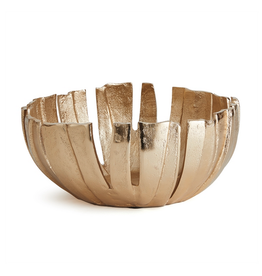 """Gold Melody Decorative Bowl D11"""" H4.75"""""""