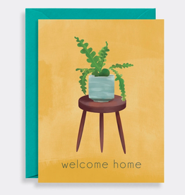 Welcome Home Plant Card