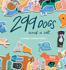 299 Dogs and a Cat Puzzle - 300 Piece