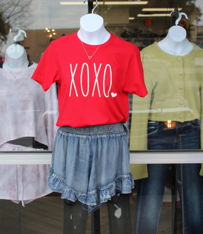 HEART IT TEE- XOXO
