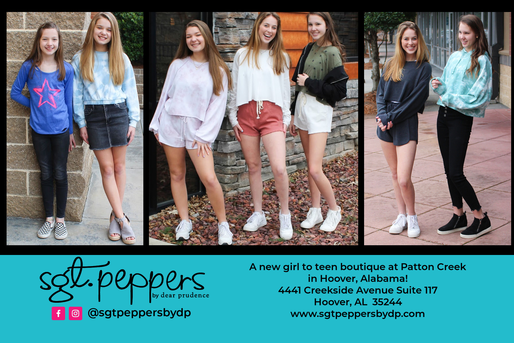 Girl, Tween and Teen Clothing Boutique in Hoover Alabama!