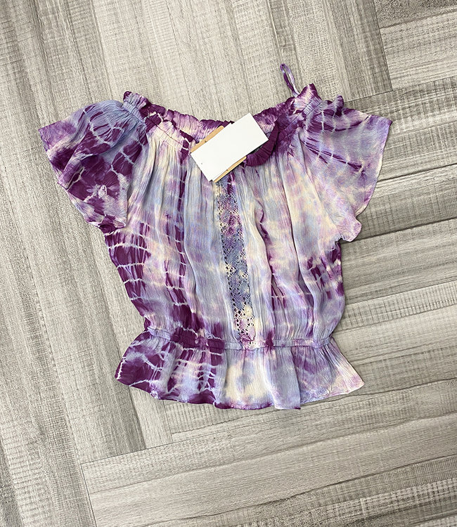 TIEDYE SAM TOP- two colors