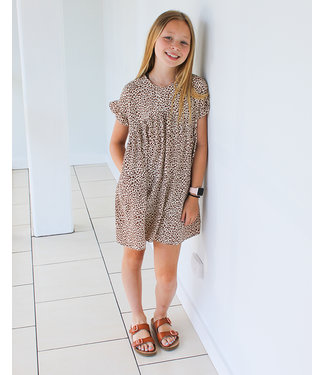 DOTTED TUNIC DRESS- two colors