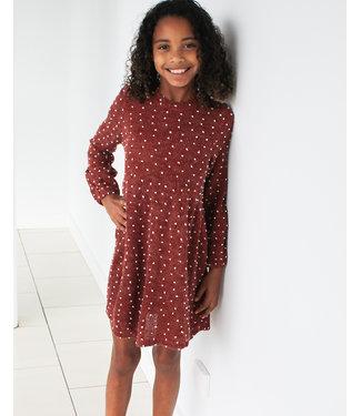 MINI POMPOM DRESS- 2 colors
