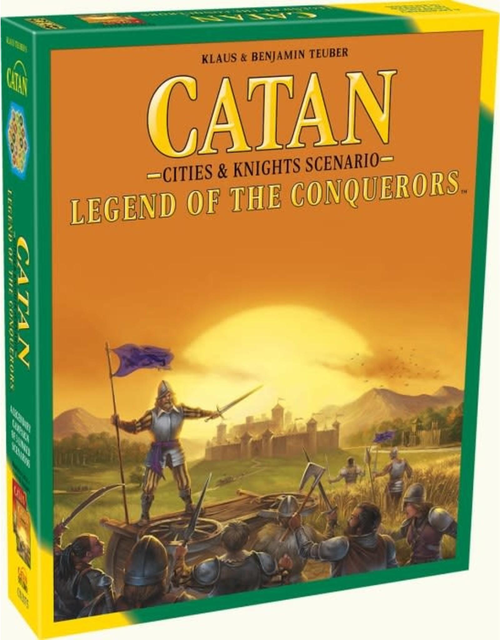 Catan Studio Catan Legend of the Conquerors