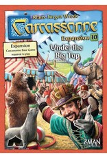Z-Man Games Carcassonne Expansion 10 Under the Big Top