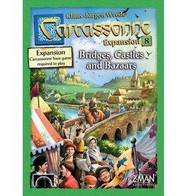 Z-Man Games Carcassonne Expansion 8 Bridges, Castles & Bazaars