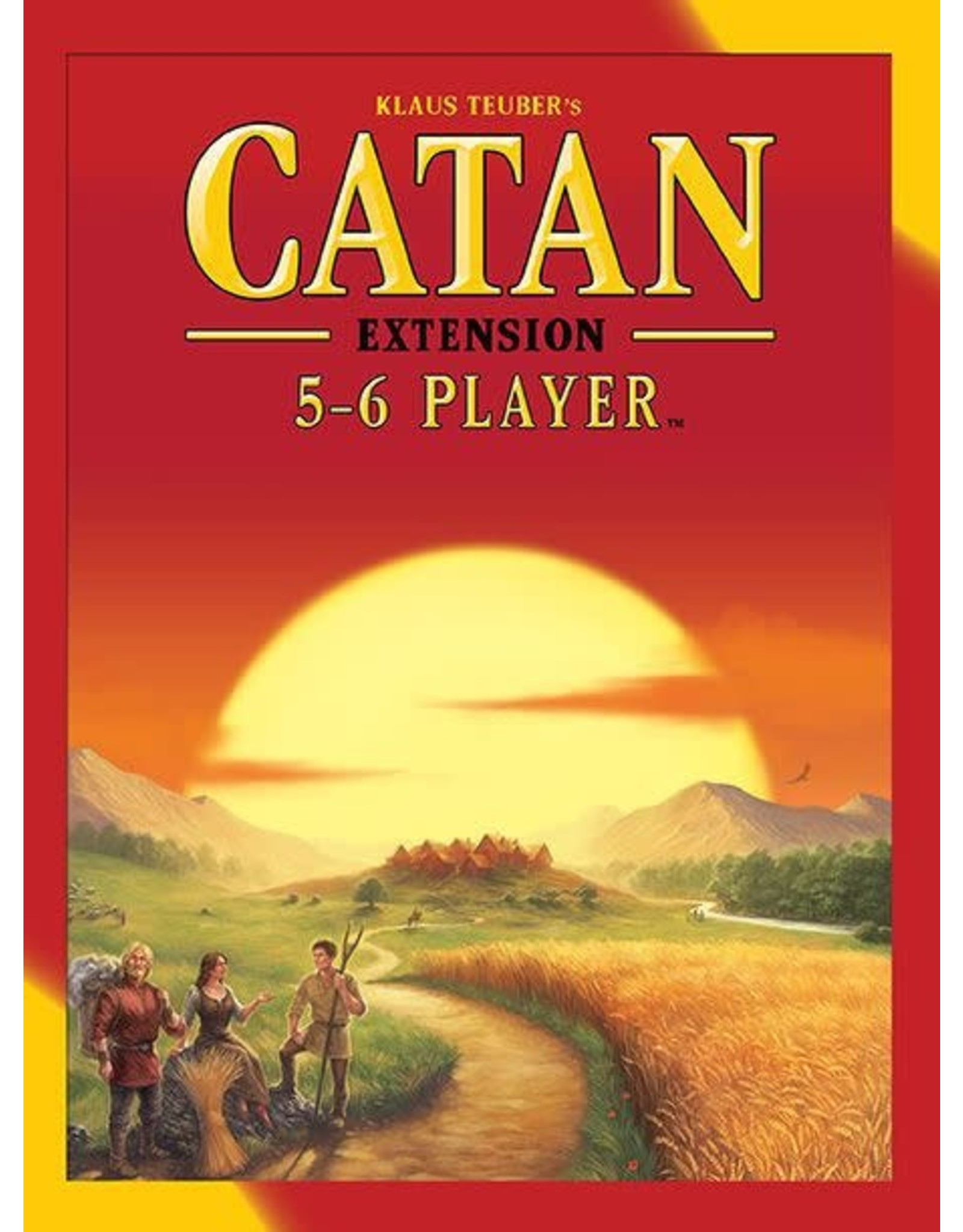 Catan Studio Catan 5 to 6 Player Extension