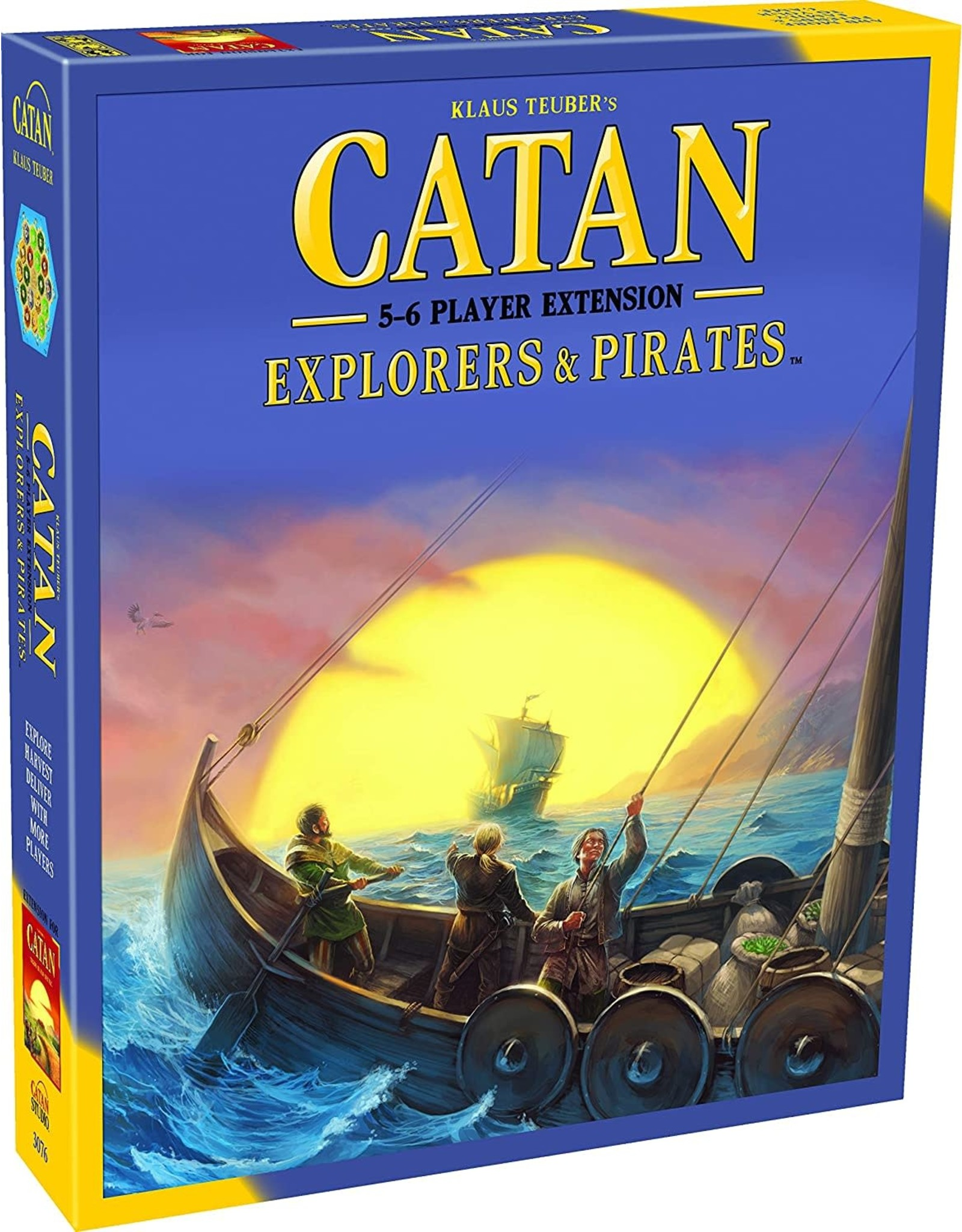 Catan Studio Catan Explorers & Pirates 5 to 6 Player Extension