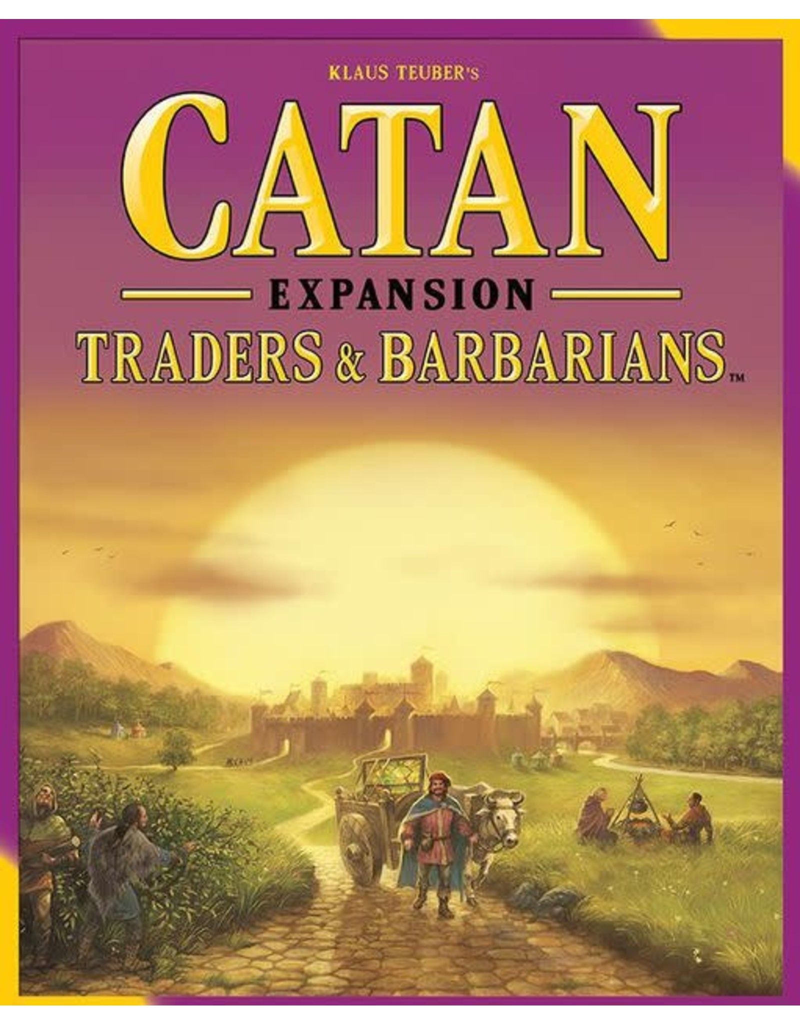 Catan Studio Catan Expansion Traders & Barbarians