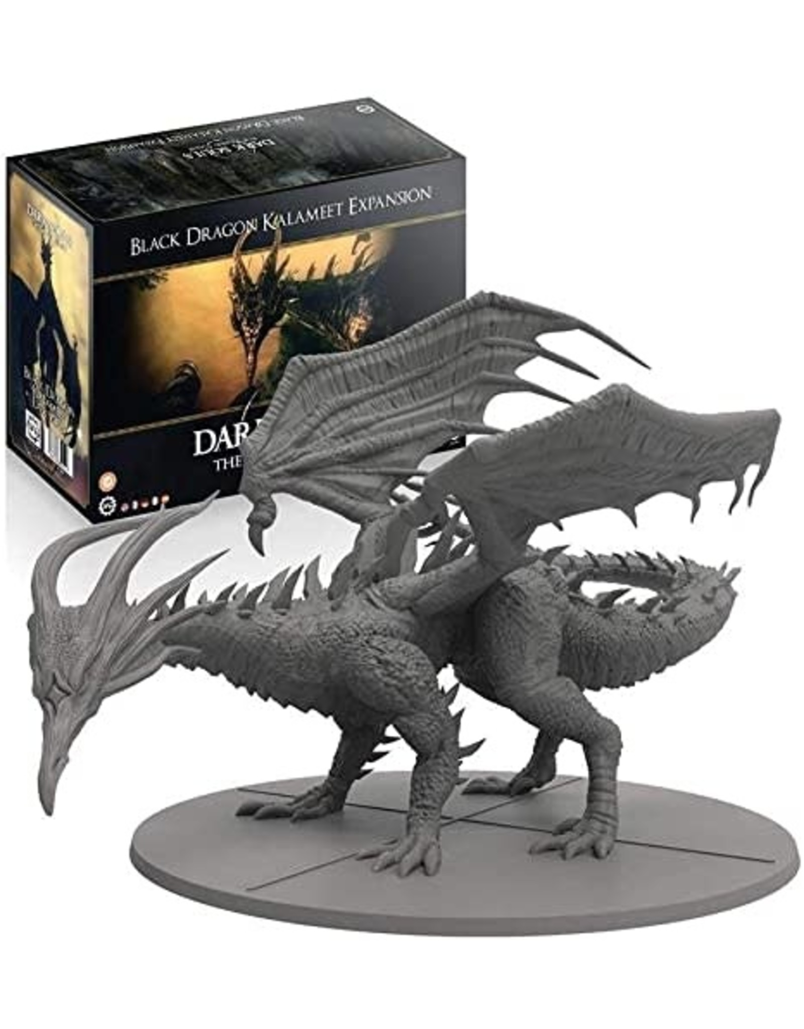 Dark Souls Expansion Black Dragon Kalameet