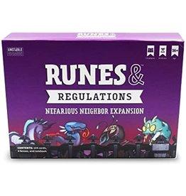 Runes and Regulations Nefarious Neighbor Expansion