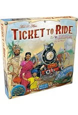 Ticket to Ride Expansion India and Switzerland