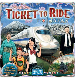 Ticket to Ride Expansion Japan and Italy