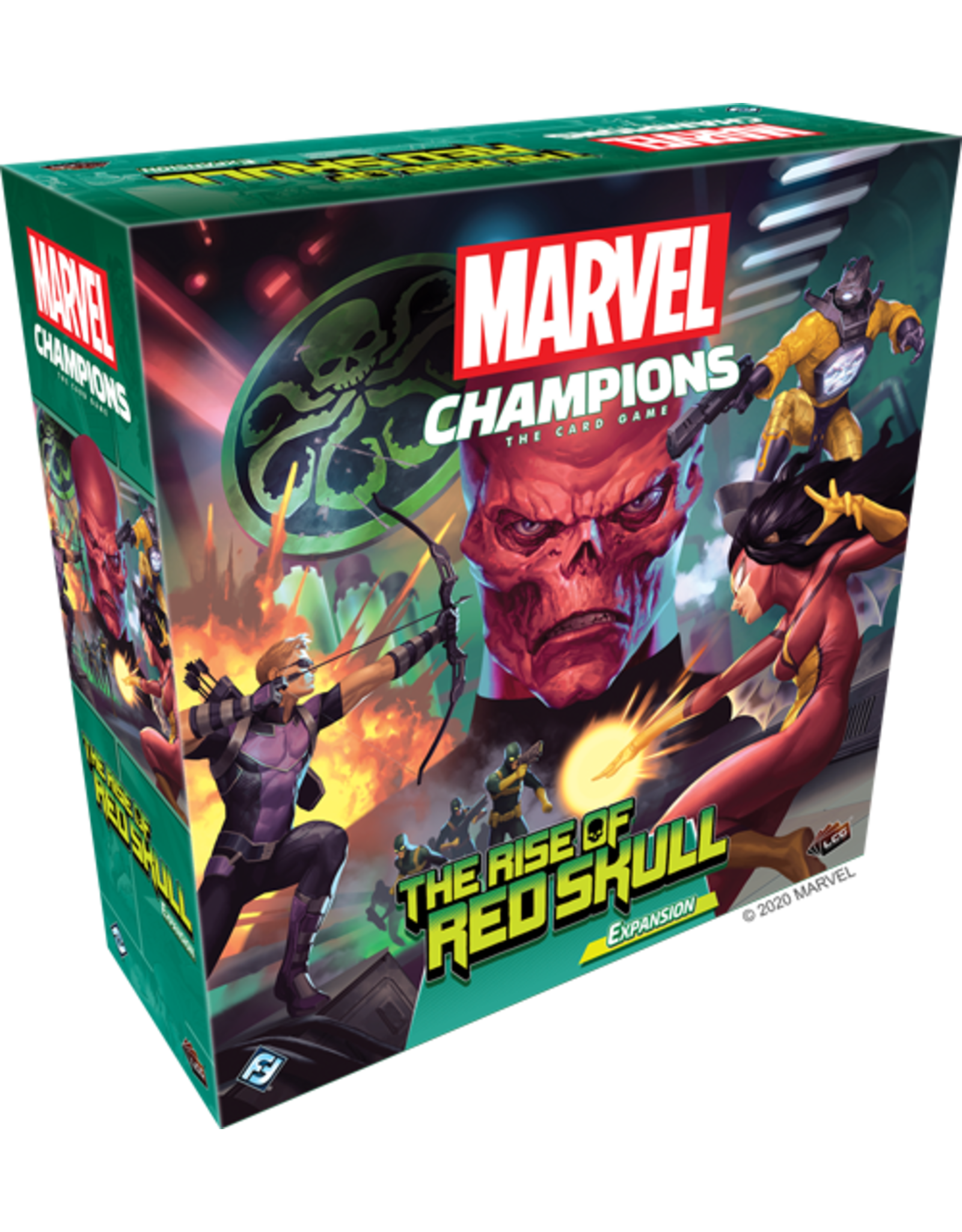 Marvel Champions The Rise of the Red Skull Expansion