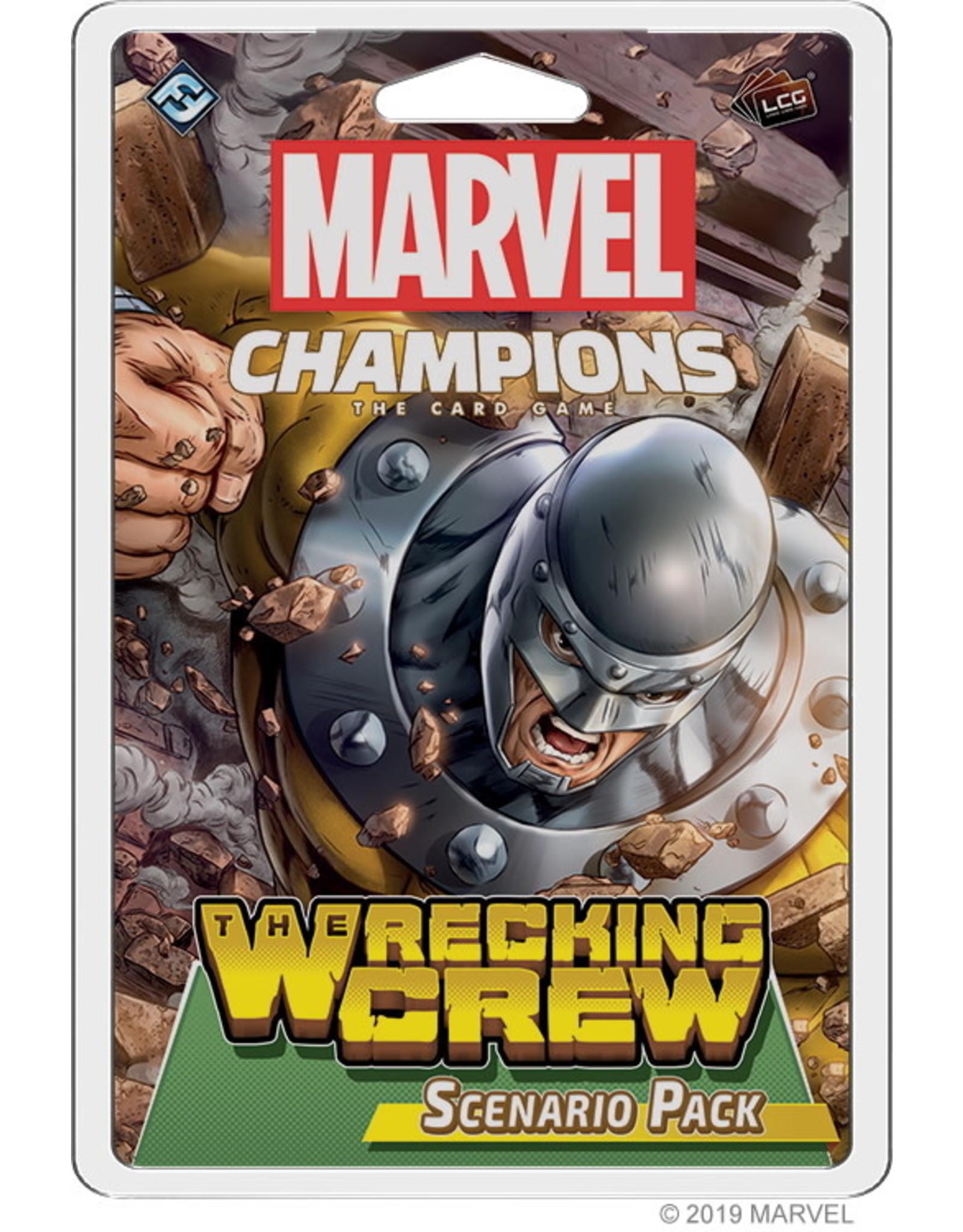 Marvel Champions Scenario Pack The Wrecking Crew