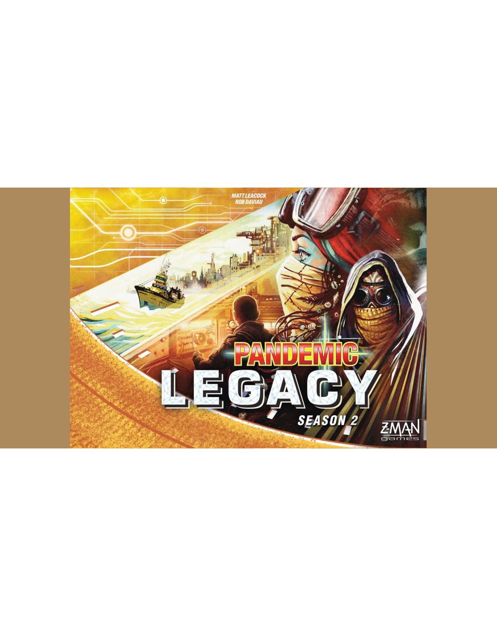 Pandemic Legacy Season 2 (Yellow Edition)