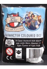 Hero Master: Character Coloured Dice