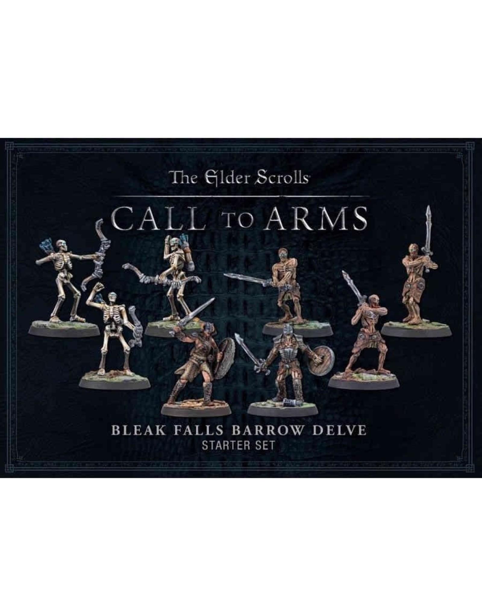 The Elder Scrolls A Call to Arms Bleak Falls Barrow Delve Set