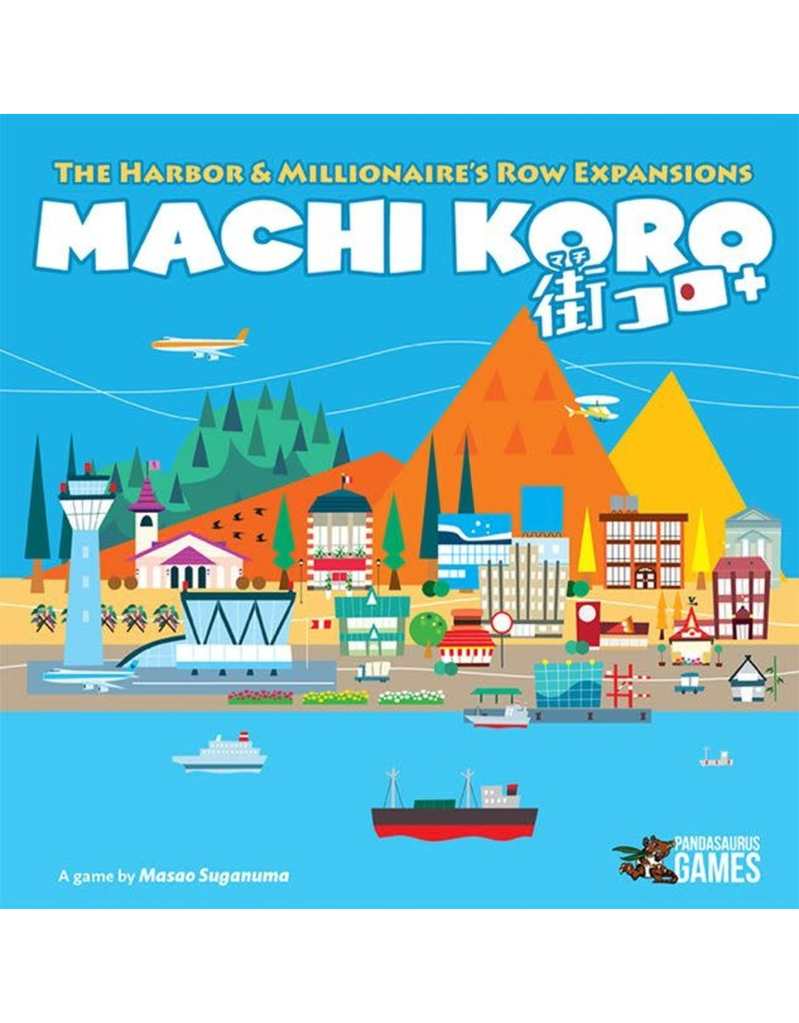 Machi Koro The Harbor & Millionaire's Row Expansion