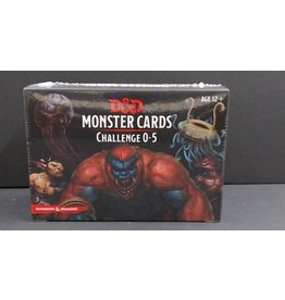 Dungeons and Dragons: Monster Cards - Challenge 0-5