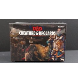 Dungeons and Dragons: Creature & NPC Cards
