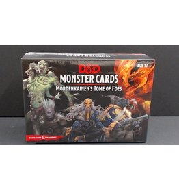 Monster Cards Mordenkainen's Tome of Foes