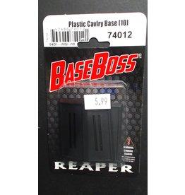 Reaper Plastic Cavlry Base (10)