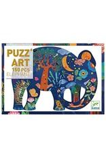 Djeco Puzzle Art - Elephant 150 Pieces