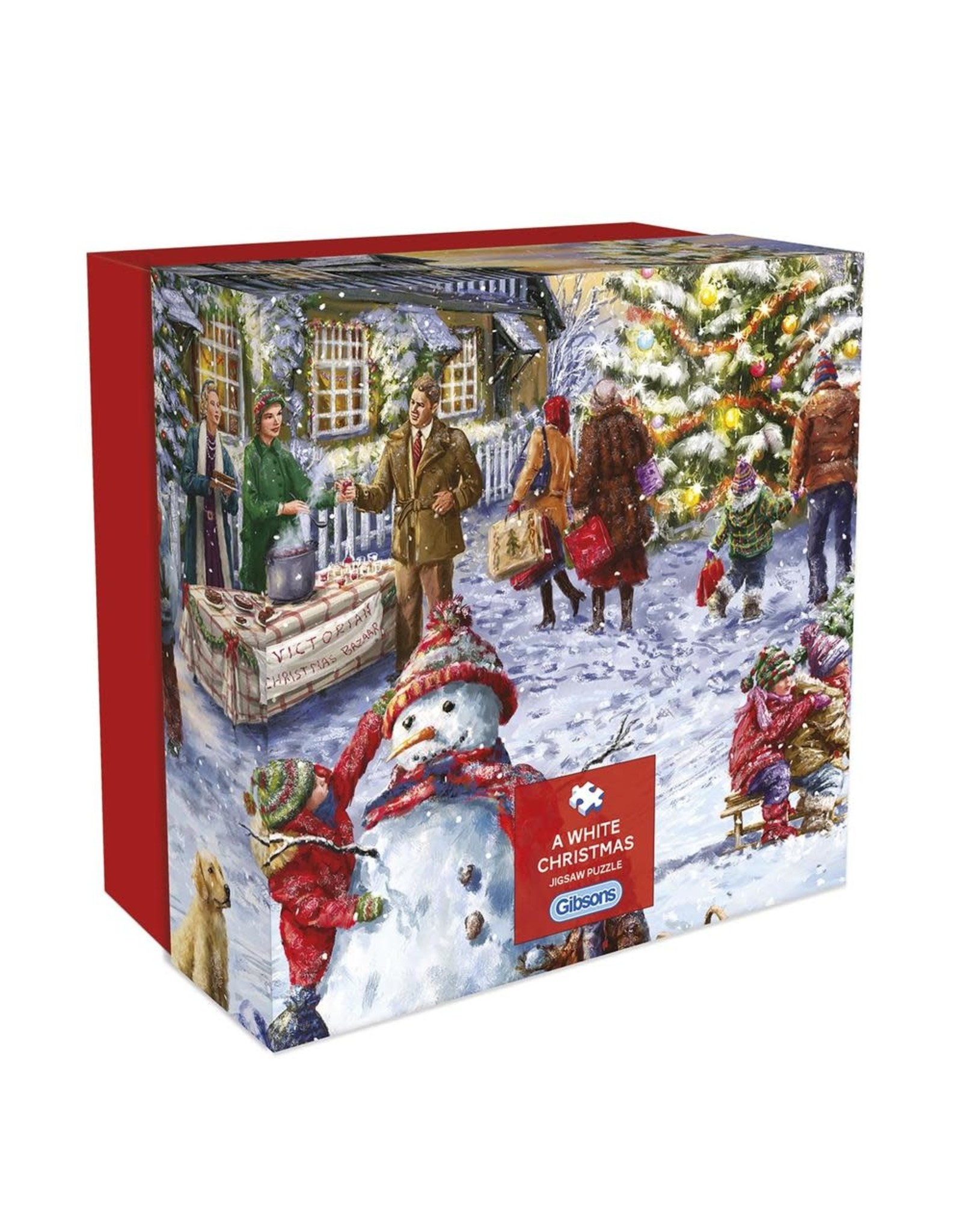 Gibsons Gibsons A White Christmas 500 pieces