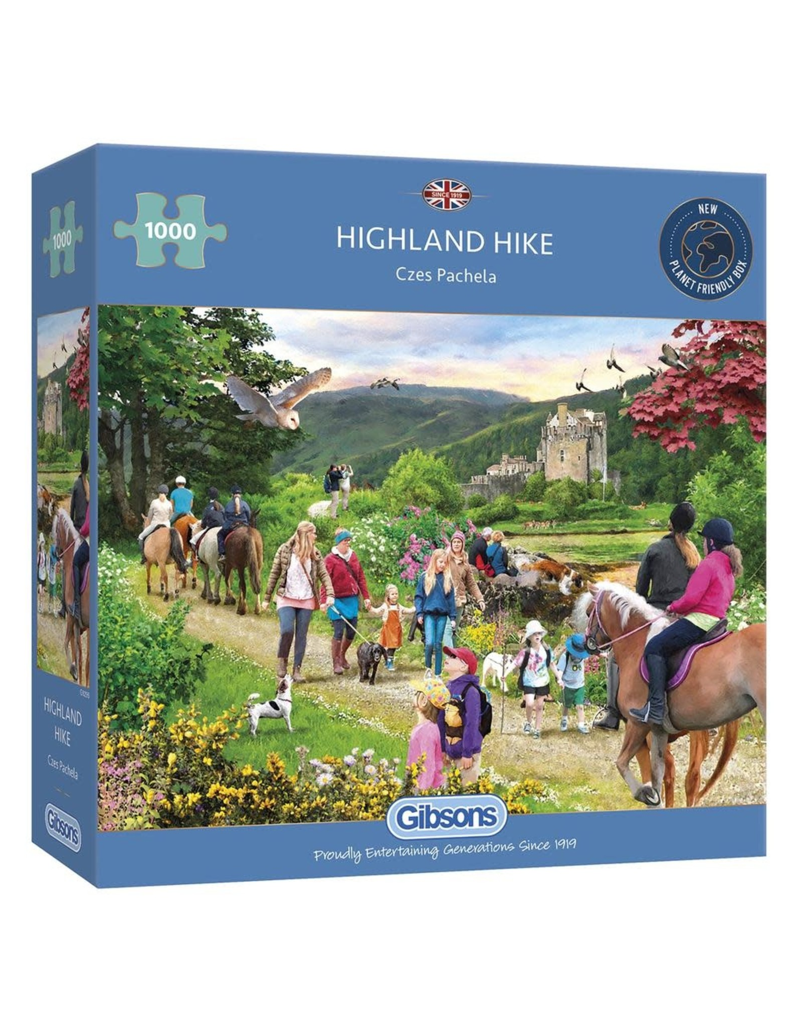 Gibsons Gibsons Highland Hike 1000 pieces