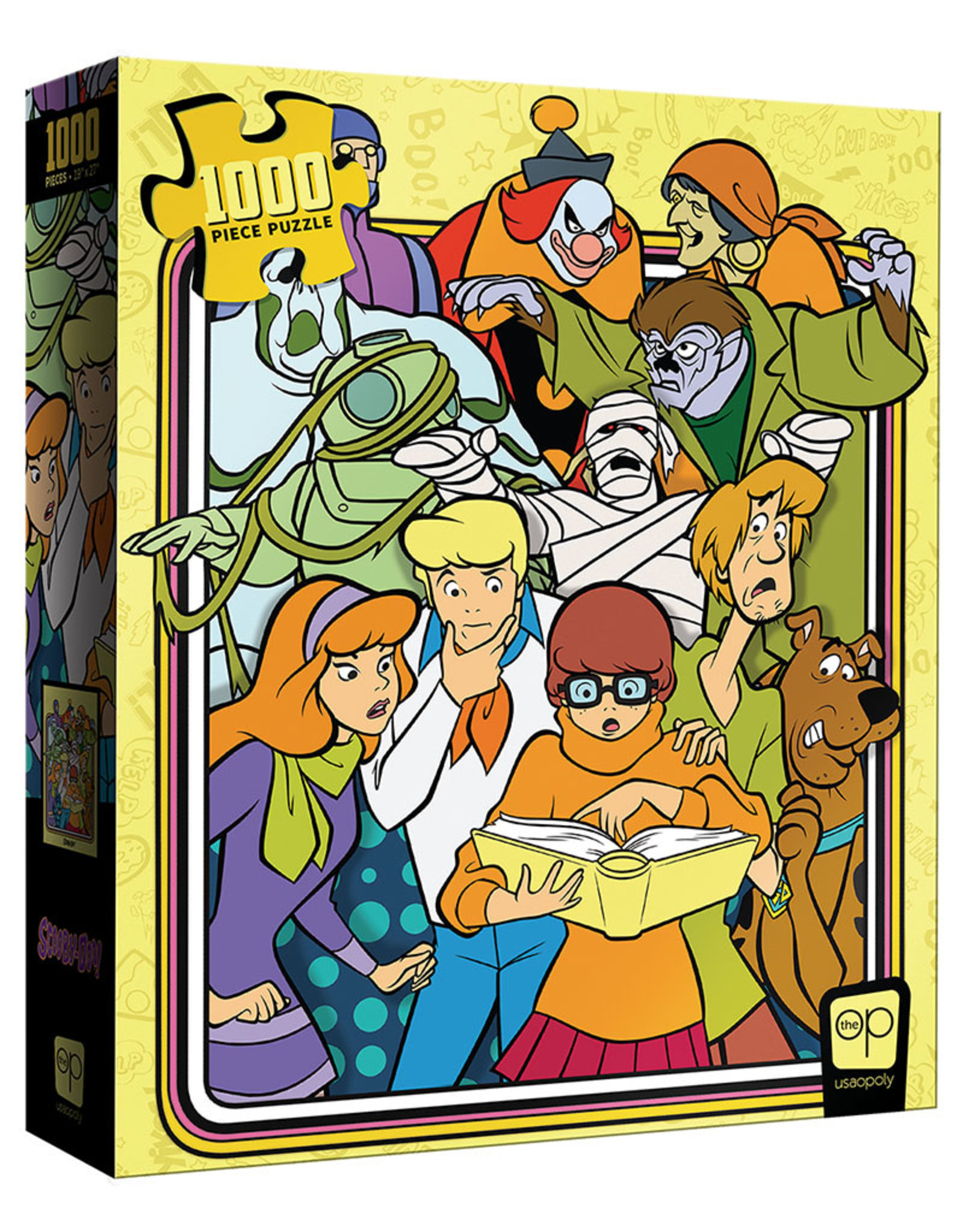 """USAopoly USAopoly Scooby Doo """"Those Meddling Kids"""" 1000 Pieces"""