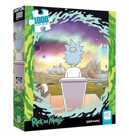 Rick & Morty - Shy Pooper 1000 Piece