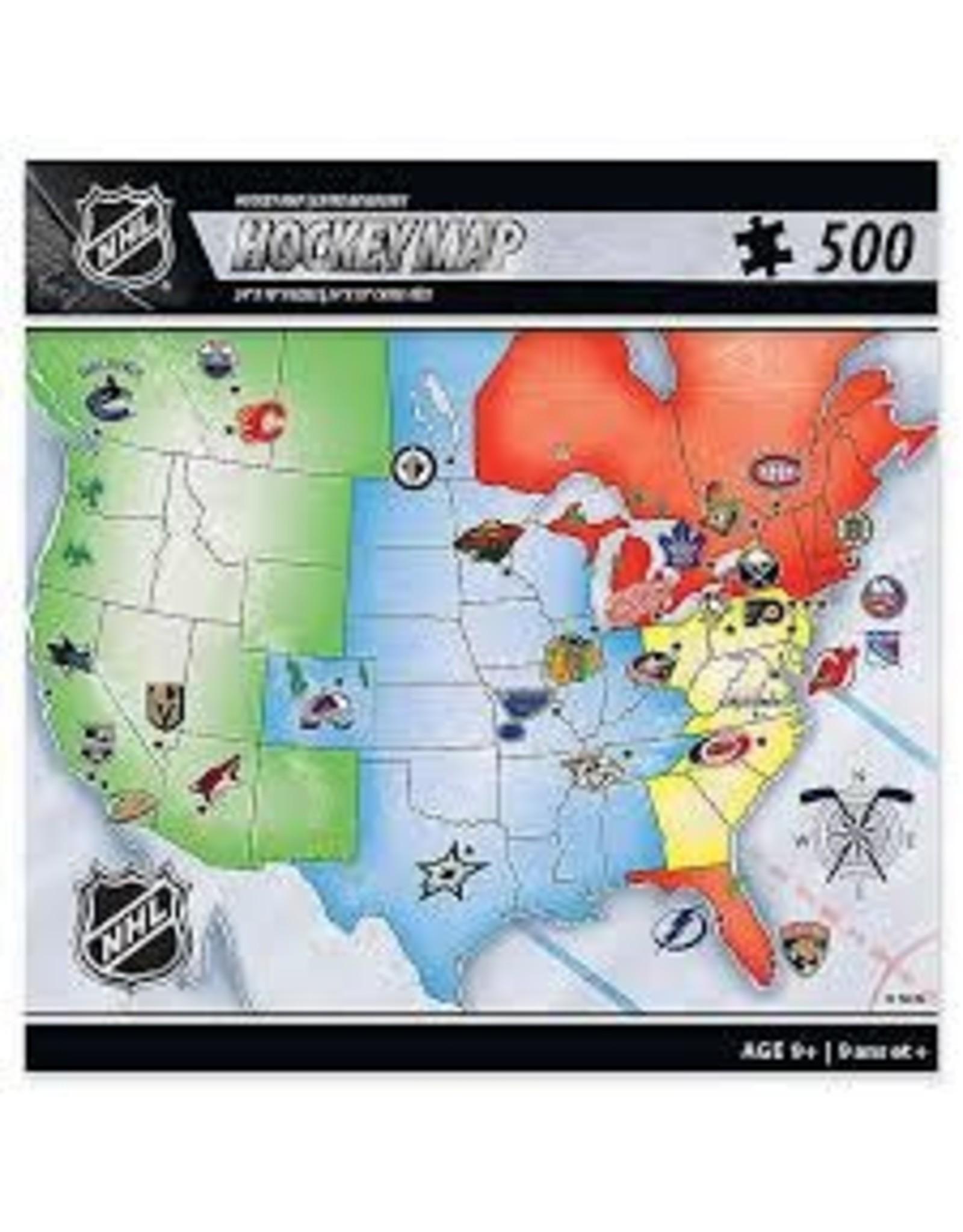 NHL Hockey Map 500