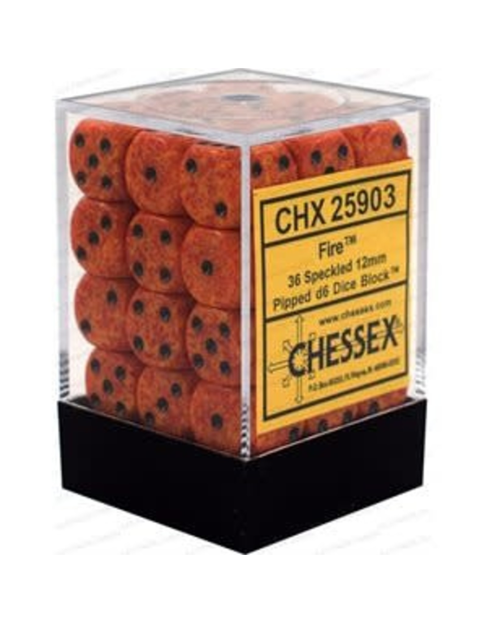Chessex Chessex Speckled 12mm (36d6)