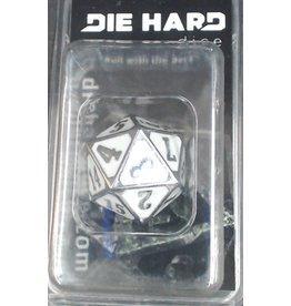 Die Hard Dice Die Hard Shiny Silver Roll Down