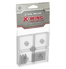 Fantasy Flight X-Wing Bases and Pegs