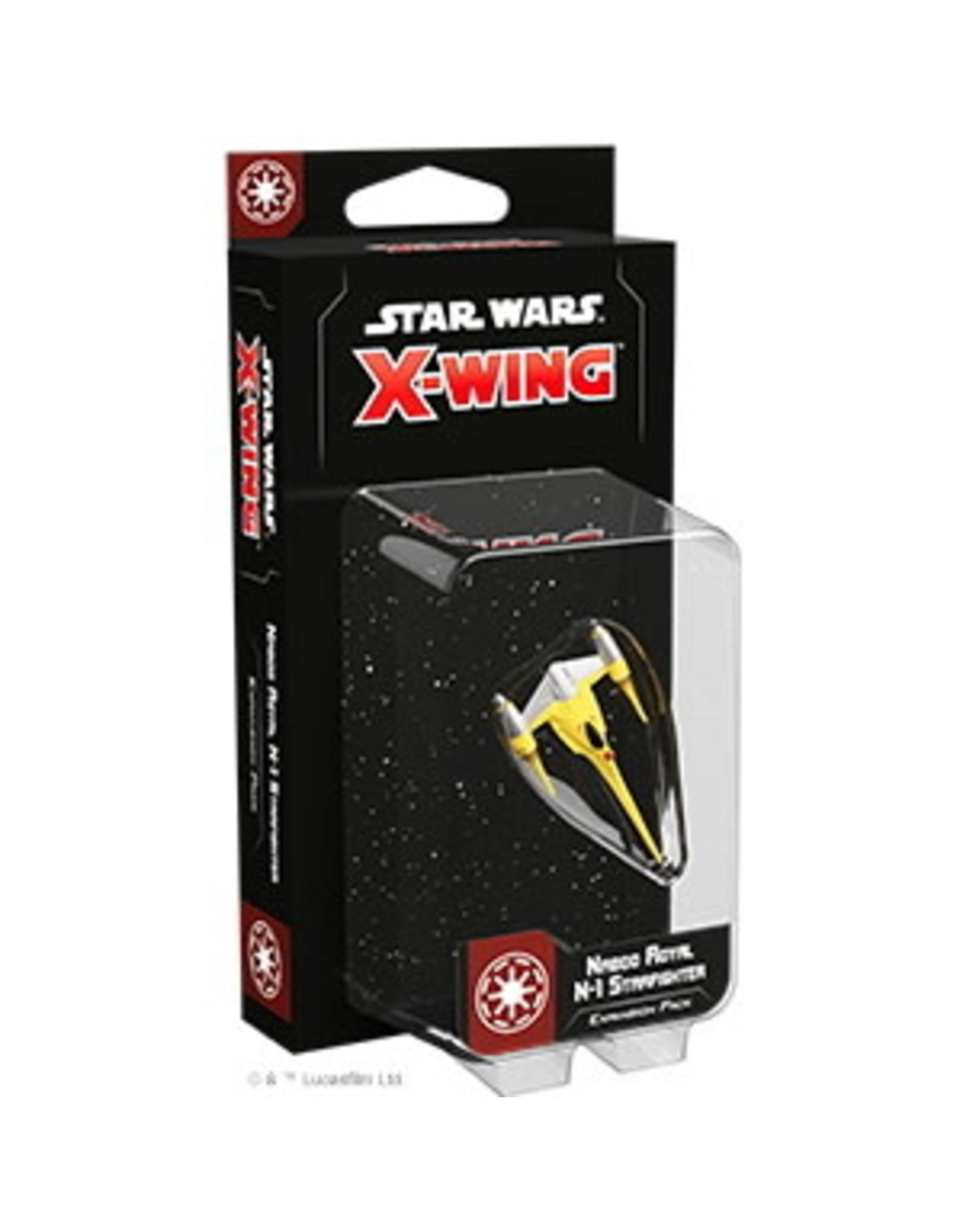 Fantasy Flight Star Wars X-Wing: Naboo Royal N-1 Starfighter