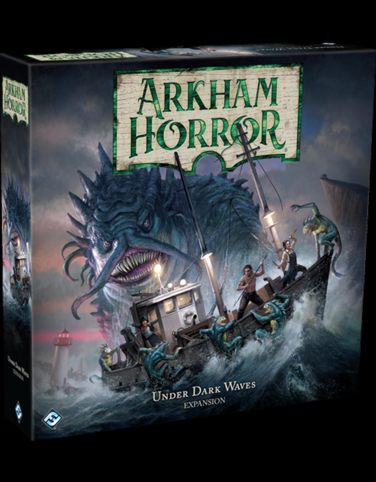 Fantasy Flight Arkham Horror 3rd Edition Under Dark Waves Exp.