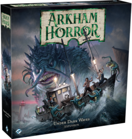 Fantasy Flight Arkham Horror 3rd Edition Under Dark Waves Exp.