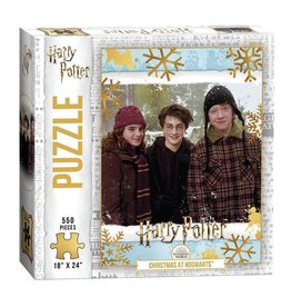"""USAopoly USAopoly Harry Potter """"Christmas at Hogwarts"""" 550 Pcs"""