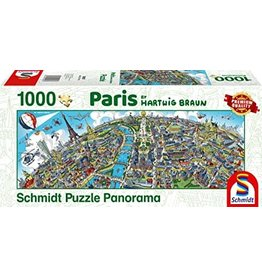 Schmidt Schmidt Paris 1000 Pieces