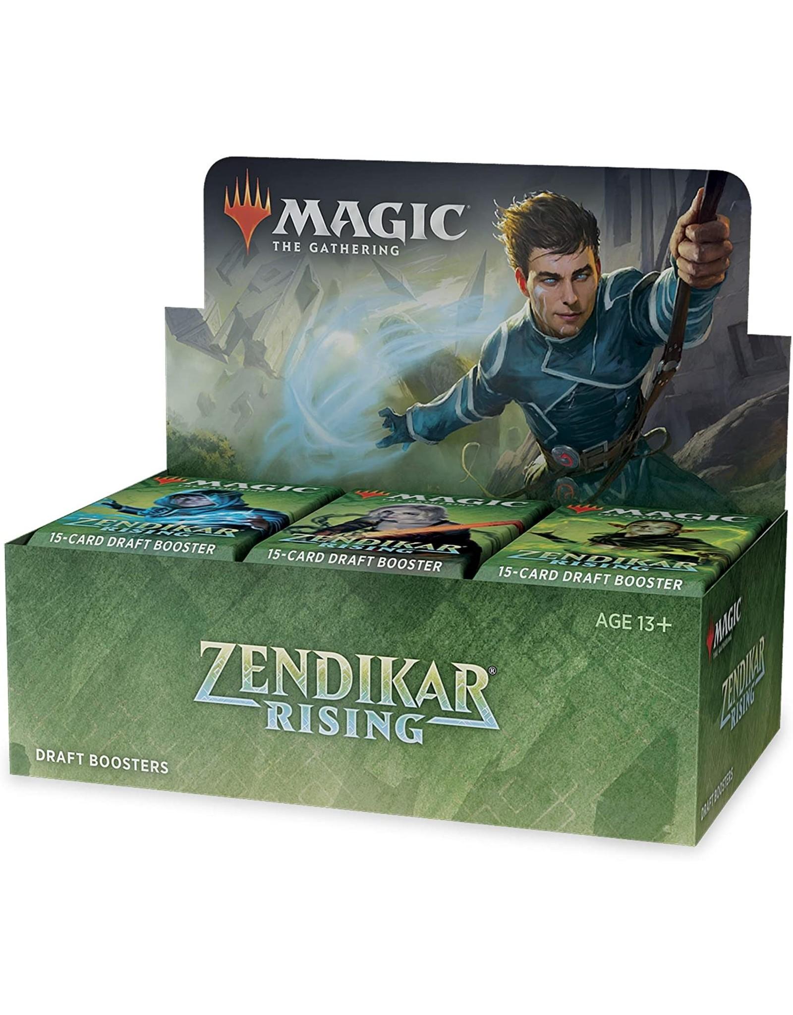 Wizards of the Coast Zendikar Rising Draft Booster Box