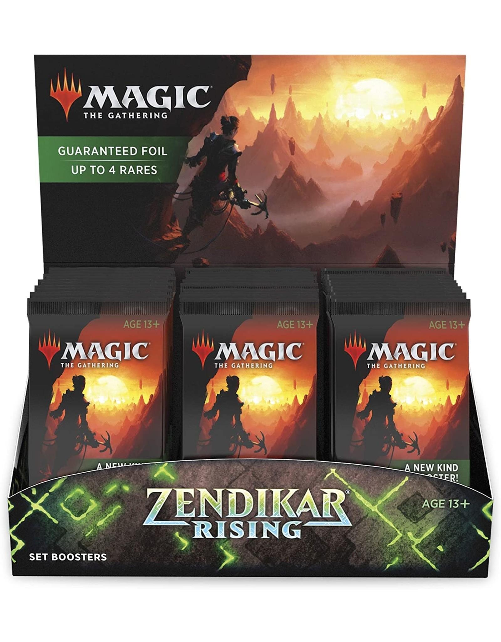 Wizards of the Coast Zendikar Rising Set Booster Box
